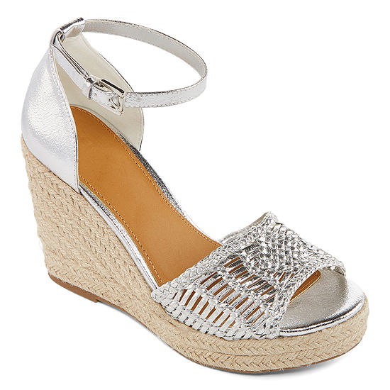 a.n.a Womens Horizon Wedge Sandals