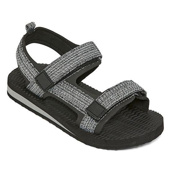 Arizona Little Kid/Big Kid Boys Jet Adjustable Strap Flat Sandals