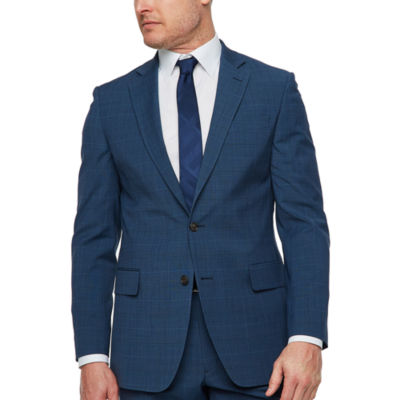 Stafford Plaid Slim Fit Stretch Suit Jacket-Slim