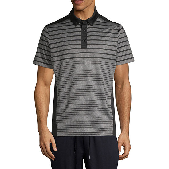 Msx By Michael Strahan Mens Short Sleeve Polo Shirt