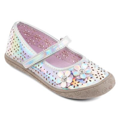 Okie Dokie Little Kids Girls Beth Mary Jane Shoes Buckle Closed Toe