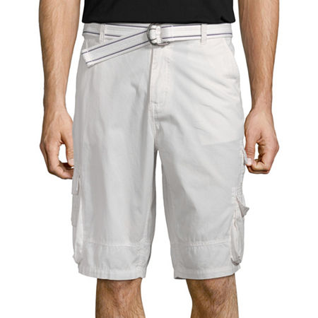 i jeans by Buffalo Mens Cargo Short, 29 , White