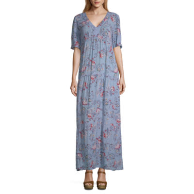 Artesia Short Sleeve Maxi Dress