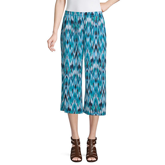 east 5th Womens Mid Rise Wide Leg Pull-On Pants