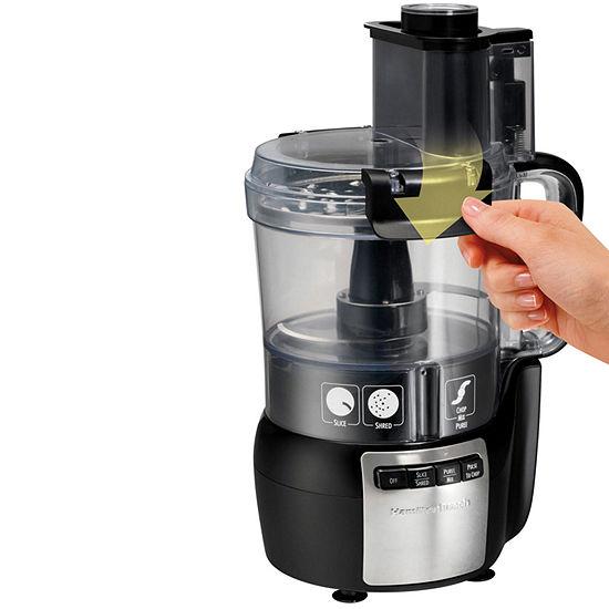 Hamilton Beach® Stack & Snap™ 10-Cup Food Processor