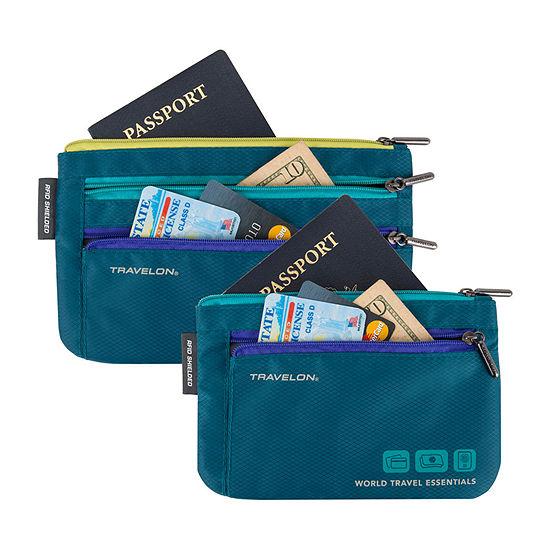 Travelon World Travel Essentials 2-pc. Passport Holder