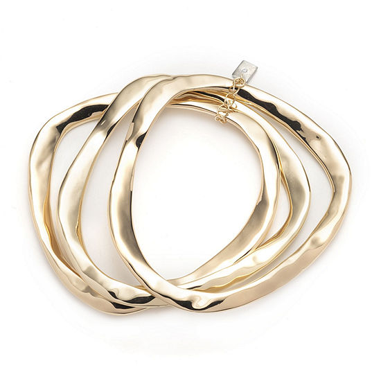 Worthington Gold Tone Bangle Bracelet