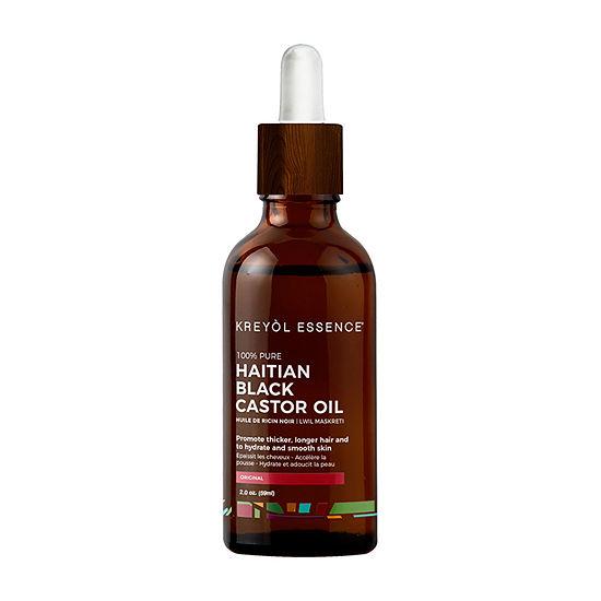 Kreyol Essence Haitian Black Castor Original Hair Oil - 2 oz.