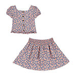 by&by Big Girls 2-pc. Skirt Set