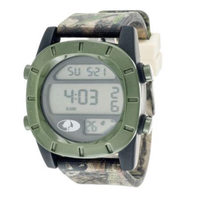 Mossy Oak Mens Multicolor Strap Watch-Mow034bk-Ol