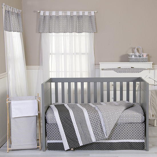 Trend Lab® Ombré Gray 3-pc. Baby Bedding Set