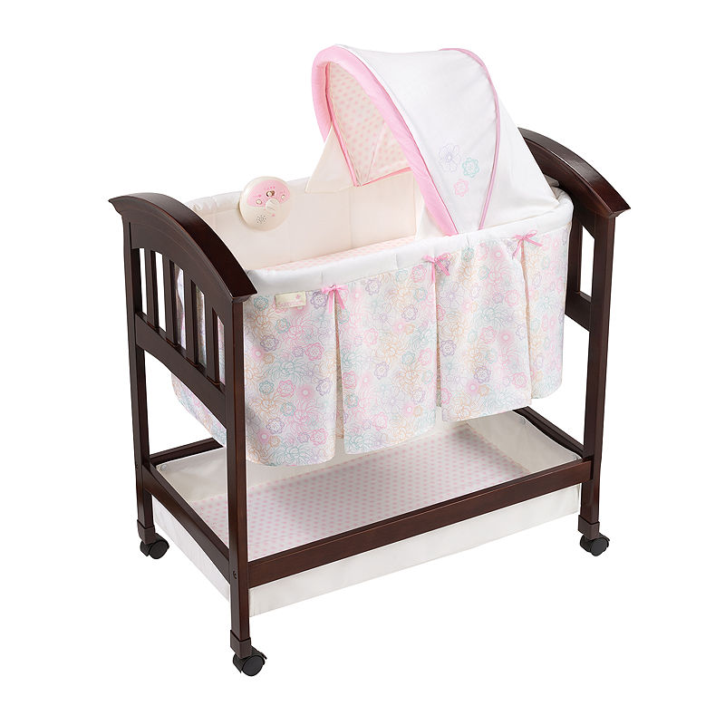 Summer Infant Classic Comfort Wood Bassinet - Bedtime Blossom