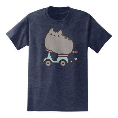 Scootin Pusheen the Cat T-Shirt