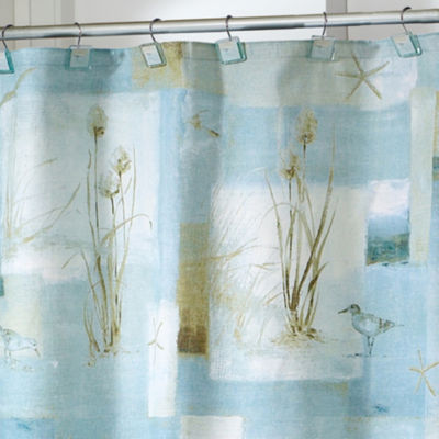 Avanti Blue Waters Shower Curtain