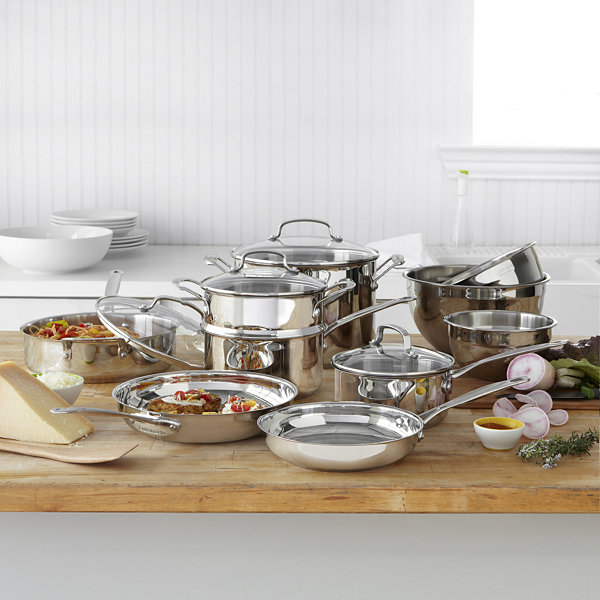 Cuisinart® 11-pc. Stainless Steel Cookware Set