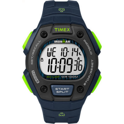 Timex Ironman Classic 30 Mens Blue Strap Watch-Tw5m116009j