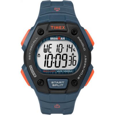 Timex Ironman Classic Mens Blue Strap Watch-Tw5m096009j