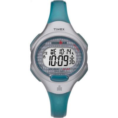 Timex Ironman Essential 10 Womens Blue Strap Watch-Tw5m101009j