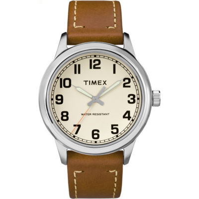 Timex Mens Brown Strap Watch-Tw2r227009j