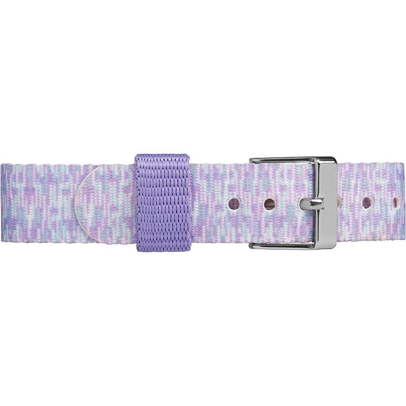 Timex Girls Purple Strap Watch-Tw7c122009j