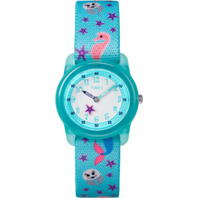 Timex Girls Blue Strap Watch-Tw7c137009j