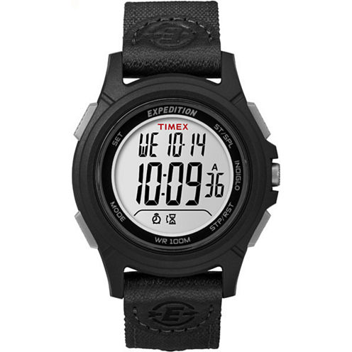 Timex Expedition Full Core Mens Black Strap Watch-Tw4b099009j