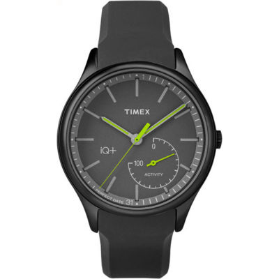 Timex IQ+ Move Black Analog Smartwatch Activity Tracker-TW2P95100F5