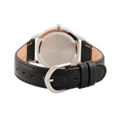 Disney Tsum Tsum Boys Black Strap Watch-Wds000120