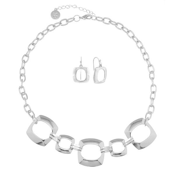 Liz Claiborne Liz Claiborne Womens 2-pc. Black Jewelry Set IS5DpRl