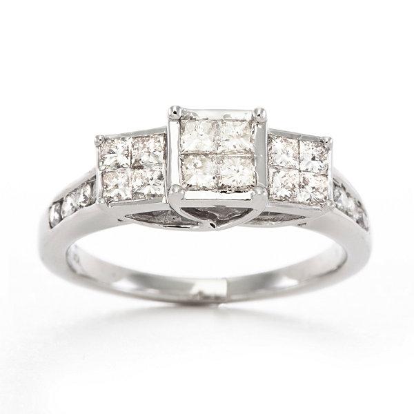 Love Lives Forever™ 1 CT T W Certified Diamond Ring 10K White Gold