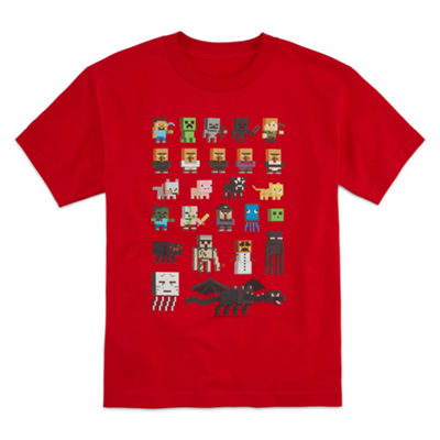 Minecraft Graphic T-Shirt-Big Kid Boys