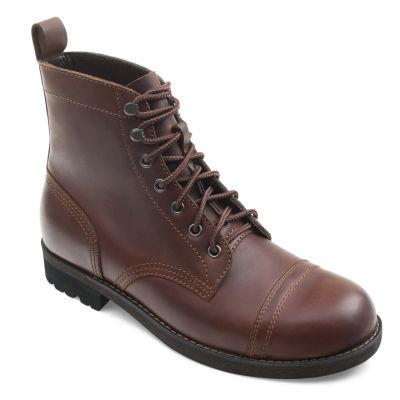 Eastland Mens Jayce Combat Boots Lace-up