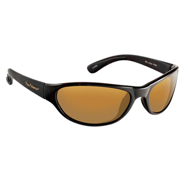 Fly Fisherman Key Largo Sunglasses Matte Black/Amber