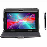 "LINSAY 7"" Quad-Core 2GB RAM 16GB Android 9.0 Pie Tablet with Black Standing Case and Pen Stylus"