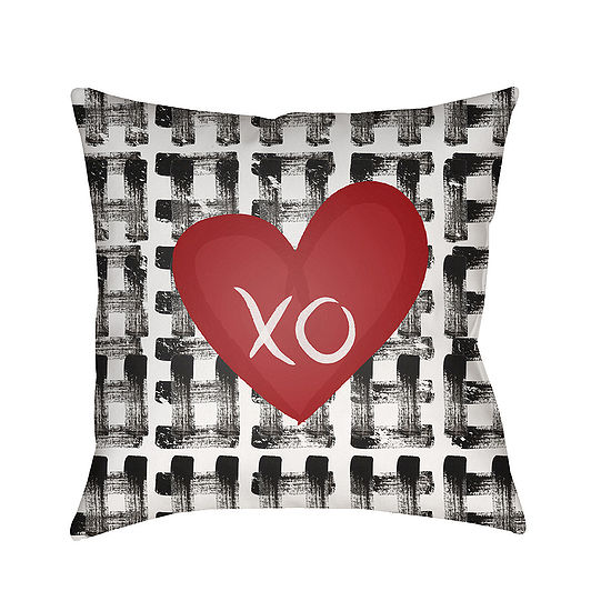 Decor 140 Be Mine Square Throw Pillow