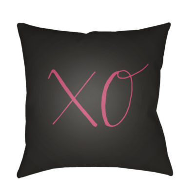 Decor 140 Kisses And Hugs Square Throw Pillow