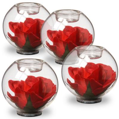 "National Tree Co. 4"" Rose Decorative Bowl"