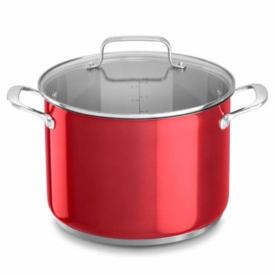 Kitchen Aid 8 Qt Stainless Steel Stockpot