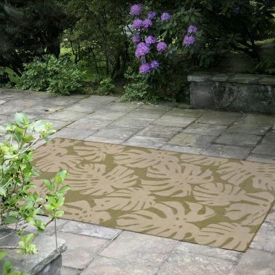 Liora Manne Terrace Fronds Indoor/Outdoor Rug