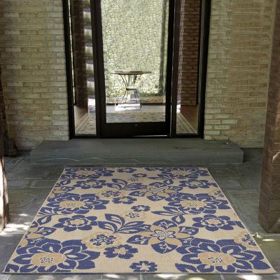Liora Manne Terrace Garden Indoor/Outdoor Rug