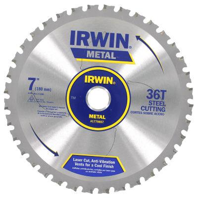 Irwin 1779857 7IN Ferrous 36 Tooth Steel CircularSaw Blade