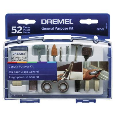 Dremel 687-01 52 Piece Set General Purpose Bits