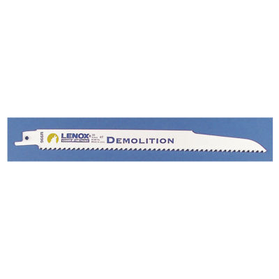 "Lenox 20598-966R 9"" 6 Tpi Demolition Fire & Rescue Reciprocating Blade"