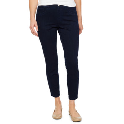 Utopia By Hue Solid Denim Leggings