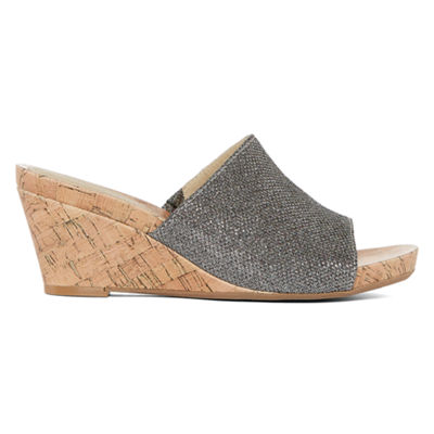 St. John's Bay Addison Womens Wedge Sandals