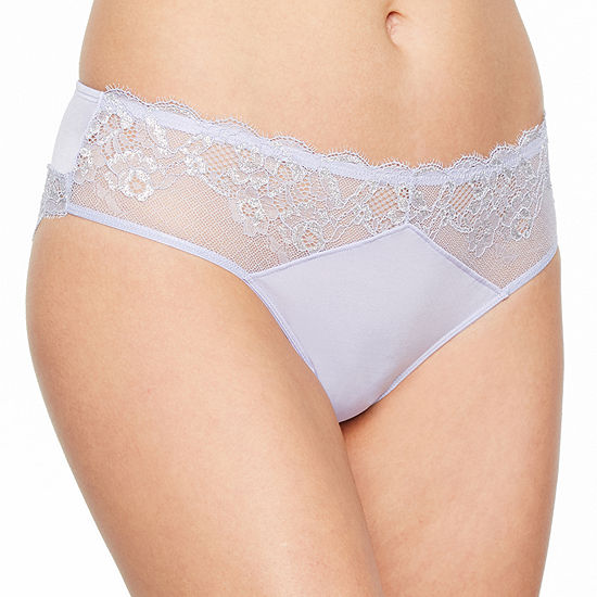 Ambrielle Adore Lace Knit Cheeky Panty
