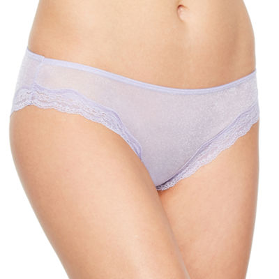 Ambrielle Shimmer Knit Cheeky Panty