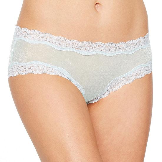 Ambrielle Shimmer Knit Hipster Panty