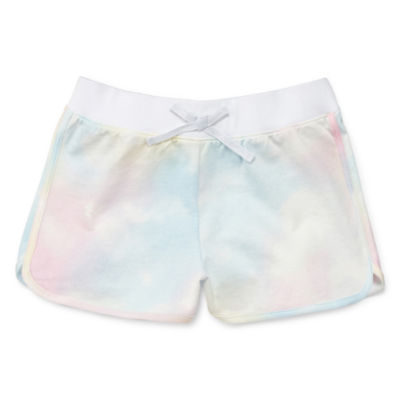 Arizona French Terry Pull-On Shorts Girls 4-16 and Plus