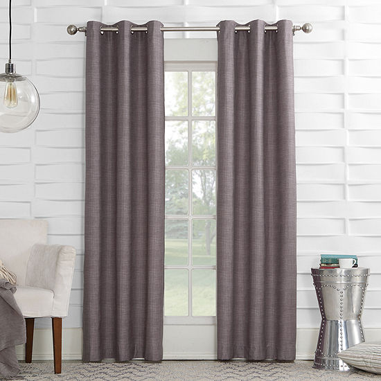 Sun Zero™ Mirage Room-Darkening Grommet-Top Curtain Panel